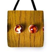 Marbles Red Orange Swirl 1 Tote Bag