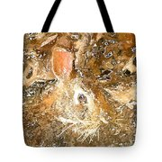March 025 0 Rabbit Eyes Looking Tote Bag