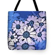March Of The Daisies Tote Bag