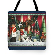March Of The Wooden Soldiers Tote Bag