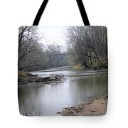 March River Morning Tote Bag