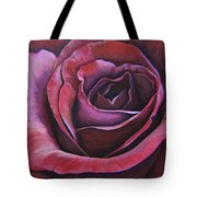 March Rose Tote Bag