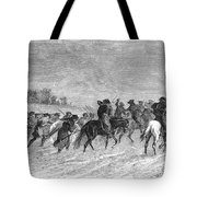 March To Trenton, 1776 Tote Bag