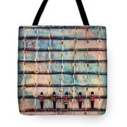Marching Band Encaustic Tote Bag