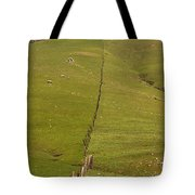 Marching Fence Tote Bag