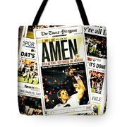 Marching In Tote Bag