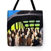 Marching Into History Tote Bag