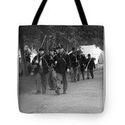 Marching Off To Battle Tote Bag