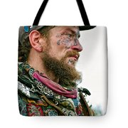 Marching To His Own Drummer Tote Bag