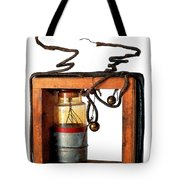 Marconis First Transmitter 1897 Tote Bag