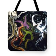 Mardi Gras Abstract Tote Bag