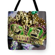 Mardi Gras Beads Tote Bag