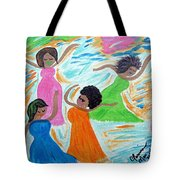 Mardi Gras Celebration Tote Bag