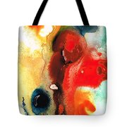 Mardi Gras - Colorful Abstract Art By Sharon Cummings Tote Bag