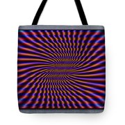 Mardi Gras Flag Tote Bag