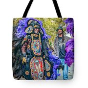 Mardi Gras Indian Tote Bag