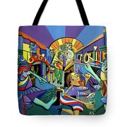 Mardi Gras Lets Get The Party Started Tote Bag