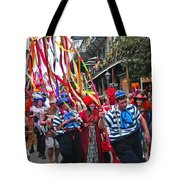 Mardi Gras In New Orleans Tote Bag