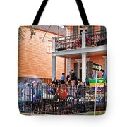 Mardi Gras Party On St Charles Ave New Orleans Tote Bag