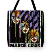 Mardi Gras Poster New Orleans Tote Bag