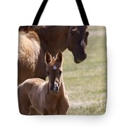 Mare And Foal   #0659 Tote Bag