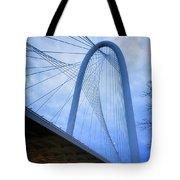 Margaret Hunt Hill Bridge Dawn Tote Bag