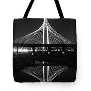 Margaret Hunt Hill Bridge Reflection Tote Bag