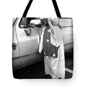 Marge Stukel Adjusting Crown Lady Liberty Parade Tucson Arizona  Tote Bag