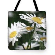Marguerite Blossom Tote Bag