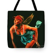 Maria Sharapova  Tote Bag