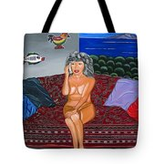 Maria Speaks The Naked Truth Tote Bag