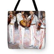 Mariachi  Musicians Tote Bag