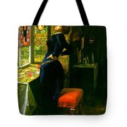 Mariana In The Moated Grange 1851 Tote Bag