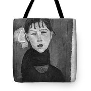 Marie Young Woman Of The People Tote Bag