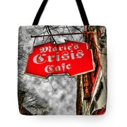 Marie's Crisis Cafe Tote Bag