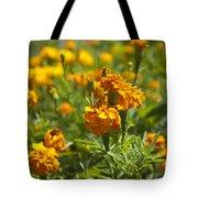 Marigold Flowers Tote Bag