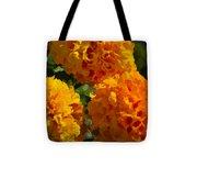 Marigold Mops Tote Bag