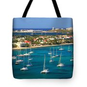 Marigot Harbor St. Martin Tote Bag