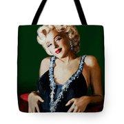 Marilyn 126 Green Tote Bag