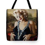 Marilyn 126 Mona Lisa Tote Bag