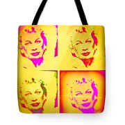 Marilyn Grew Up Tote Bag