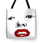 Marilyn II Tote Bag by David Patterson