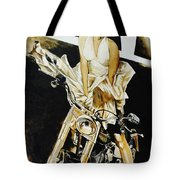 Marilyn In A Man's World Tote Bag