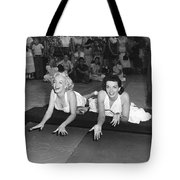 Marilyn Monroe And Jane Russell Tote Bag