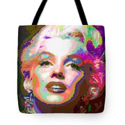 Marilyn Monroe 01 - Abstarct Tote Bag