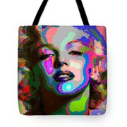 Marilyn Monroe - Abstract 1 Tote Bag
