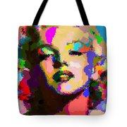 Marilyn Monroe - Abstract Tote Bag