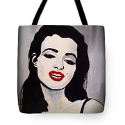 Marilyn Monroe Aka Norma Jean The Beginning Tote Bag