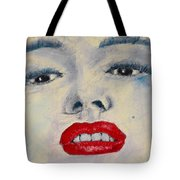 Marilyn Monroe Tote Bag by David Patterson