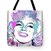 Marilyn Monroe I Want To Be Loved By You Tote Bag